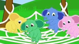 Um elefante se Balançava + 15 minutos de musica infantil com Os Amiguinhos
