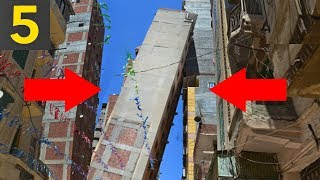 Top 5 TERRIBLY Built Buildings - bad construction