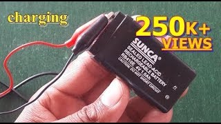 How to charge 4v battery