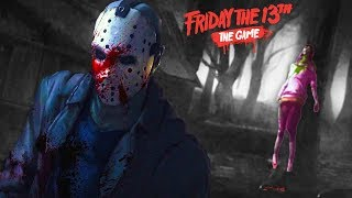SCREAMING SCARED w/ THE CREW (Friday the 13th Game)