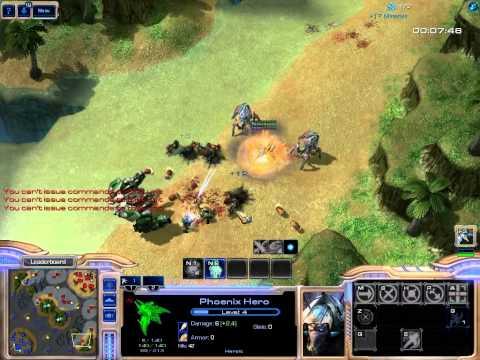 SC2 FFS Event230 Game 4 Part 1/2 (Hero Attack 3X)