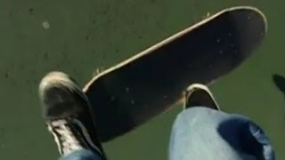 Ollie Late Back Foot Flip - First Person Skateboarding / Super Slow Motion
