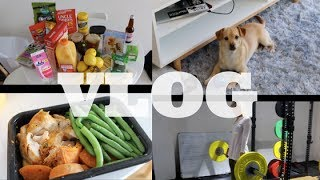 Legs Workout, Tips from my PT, Groceries, Dinner | VLOG