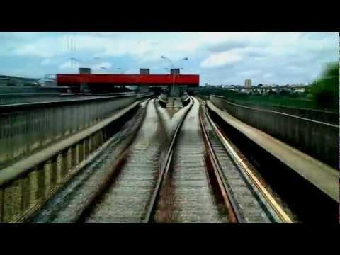 Metrô SP Linha 3 Vermelha Barra Funda para Itaquera Visão da cabine MUST SEE HD