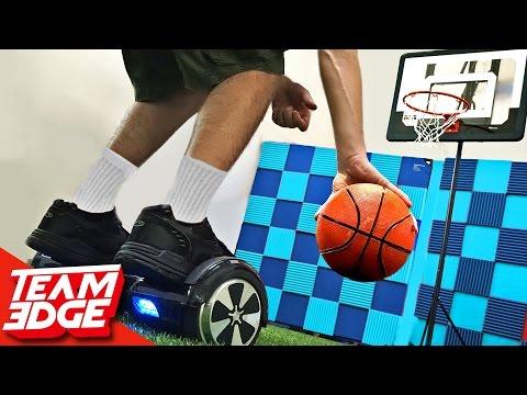 Hoverboard BASKETBALL Challenge