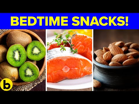 6 Bedtime Snacks You Can Eat That Will Help You Sleep