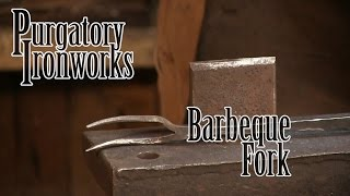 Forging A Barbeque Fork