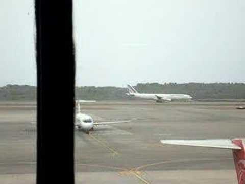 despegue A340 AIR FRANCE Maiquetia