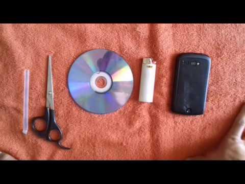 Como Hacer una camara espia Casera con Telefono Movil