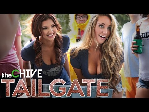 theChive Throws a Very Bouncy Tailgate Party