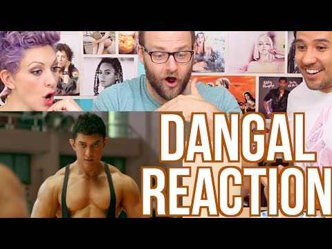 DANGAL - MOVIE TRAILER - REACTION!!!