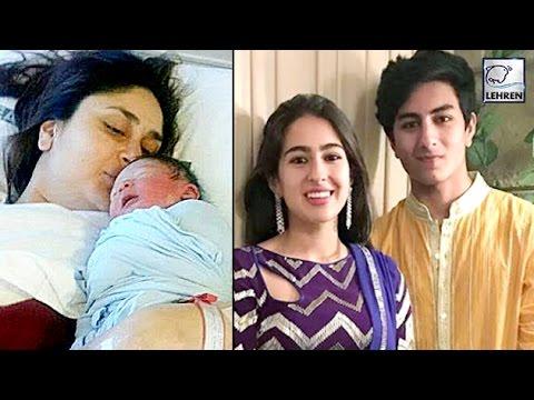 Saif's Kids FIRST REACTION On Taimur Ali Khan | Kareena Kapoor | LehrenTV