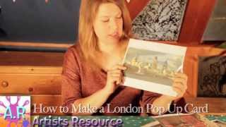 Pop-Up City Greetings Card Tutorial - Happy Birthday, Cardmaking project