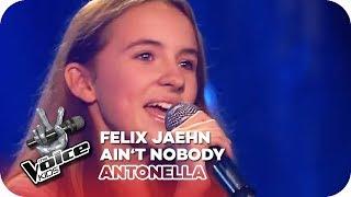 Felix Jaehn - Ain't Nobody (Antonella)   Blind Auditions   The Voice Kids 2016   SAT.1