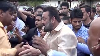 Sanjay Dutt FIGHTS gets into a controversy and APOLOGIZES