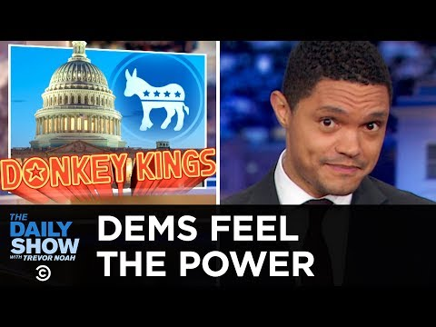 Xxx Mp4 Democrats Plan Their House Takeover And Fire Up THE SUBPOENA CANNON The Daily Show 3gp Sex