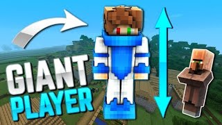 GIANT PLAYERS IN MCPE ! 1.0 - Minecraft PE ADDON + DOWNLOAD ( Minecraft - Pocket Edition )