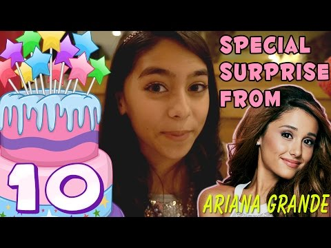 Mercedes Birthday Surprise From Ariana Grande Not Clickbait VLOG IT GEM Sisters