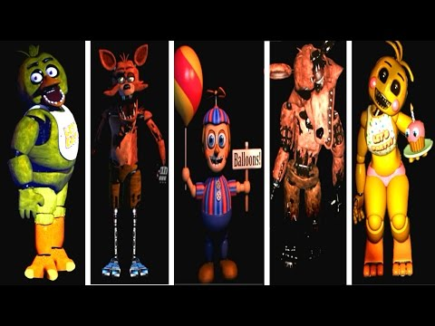 Five Nights at Freddy's 1 &