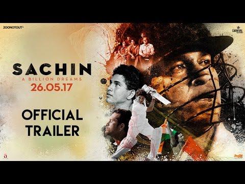 Sachin A Billion Dreams Official Trailer Sachin Tendulkar