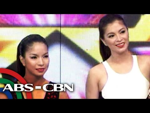 Angel Locsin meets kalokalike