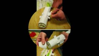 Home Made  Sushi Bazooka Roll Maker