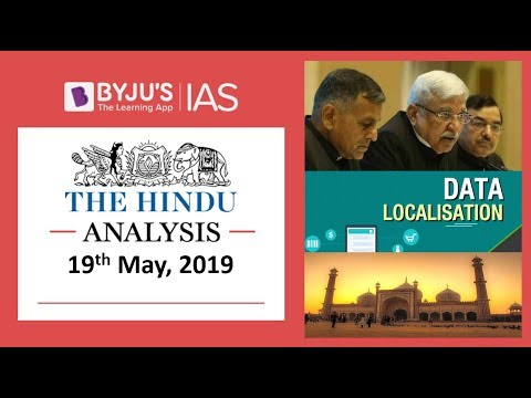 Xxx Mp4 39 The Hindu 39 Analysis For 19th May 2019 Current Affairs For UPSC IAS 3gp Sex