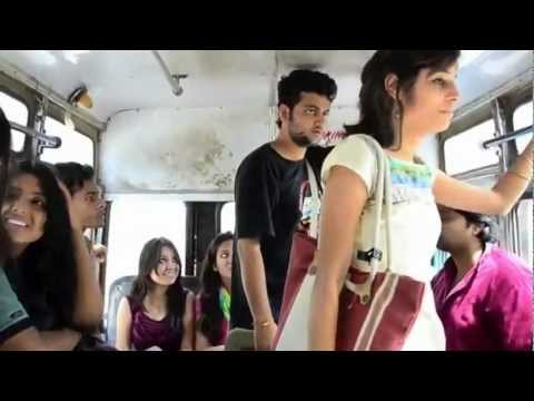 What Girls and boys Doing in bus A journey to remember