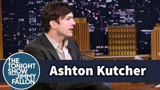 Ashton Kutcher Traded Shirts with a Stranger to Meet Bachelorette Rachel Lindsay