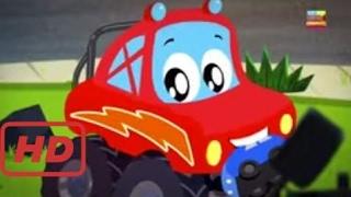 Songs for kids    Little red car   monster truck Dan   We are the monster trucks