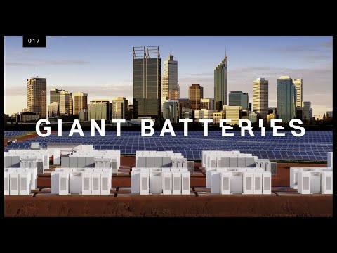 Why Tesla is building city sized batteries