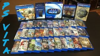 PS Vita Collection 2016 - Best Handheld Ever Made!