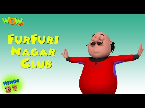 Furfuri Nagar Club - Motu Patlu in Hindi