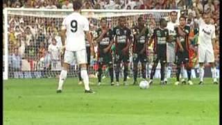 Cristiano Ronaldo! ¨Primer Gol Con El Real Madrid¨