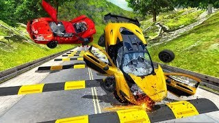 Speed Bump Crash Challenge 3D Game #Car Games Android GamePlay #Racing Games To Play #Games Video