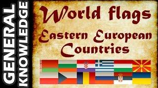 World Flags - Eastern European Countries