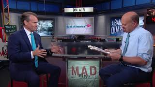 Bank of America CEO: Online Banking Growth   Mad Money   CNBC