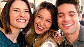 SUPERGIRL CAST BEHIND THE SCENES HD