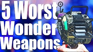 TOP 5 WORST WONDER WEAPONS IN 'BLACK OPS 3 ZOMBIES'