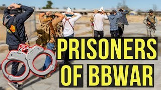Airsoft Prisoners of BBWar | Milsim West The Kazakh Revolution: Prisoners and Funny Moments