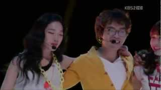 Dream high 2 (ep 9 performance cut) - We Are The B (Kang Sora  JR  Jinwoon  Yeon Joo  Ji Soo) HD