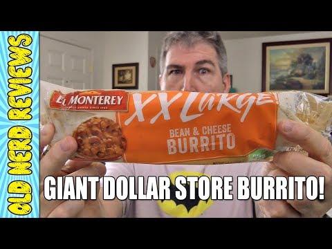 Xxx Mp4 El Monterey XX Large Bean Cheese Burrito REVIEW Eating The Dollar Stores 💲🌯 3gp Sex