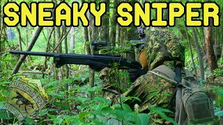 Sneaky Airsoft Sniper
