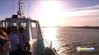 Tres heridos tras chocar un barco contra un pantalán en El Rompido