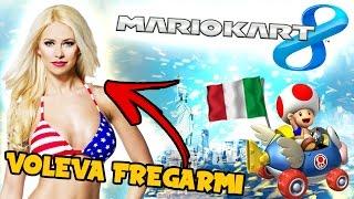L'AMERICANA VOLEVA FREGARMI! Mario Kart 8 ONLINE Gameplay Wii U ITA [1080p 60fps]