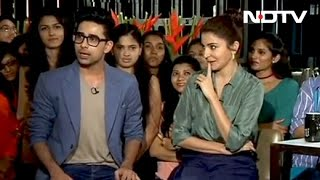Anushka And Suraj Take Part In Hilarious Rapid Fire