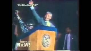 Discurso de Nelson Mandela en Nueva York tras ser liberado de prisión en 1990