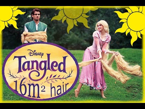 Tangled Life has begun very long wig