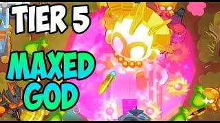 Bloons TD 6 - 5TH TIER MAXED TEMPLE - ROUND 200. CRAZY HIGH ROUND!
