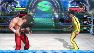 WWE All Stars (Bruce Lee Vs Ricki Steamboat) HD